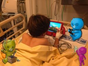 jeu sur tablette tactile le héros c'est toi